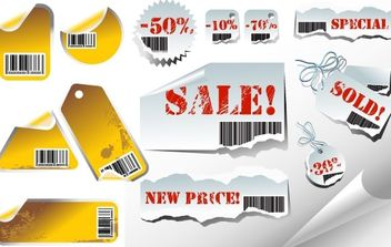 Vector Bar codes - Kostenloses vector #178759