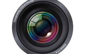 Aperture lens Illustration - vector #179209 gratis