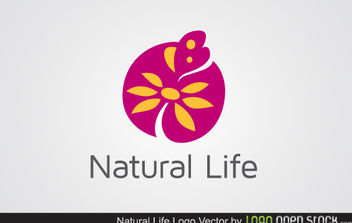 Flourish Natural Life - vector gratuit #179649