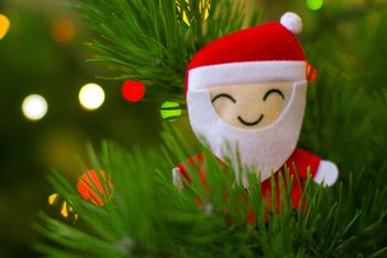 Santa Claus Christmas decoration - image #182609 gratis