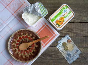 Cottage cheese with dried apricots - image gratuit #182809