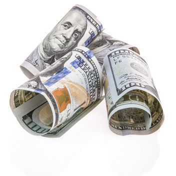 Dollars on white background - Free image #182939