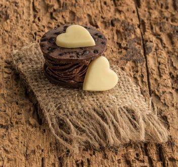 Heart shaped chocolates - image #182959 gratis