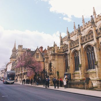Building of College in Oxford, England - Kostenloses image #183949