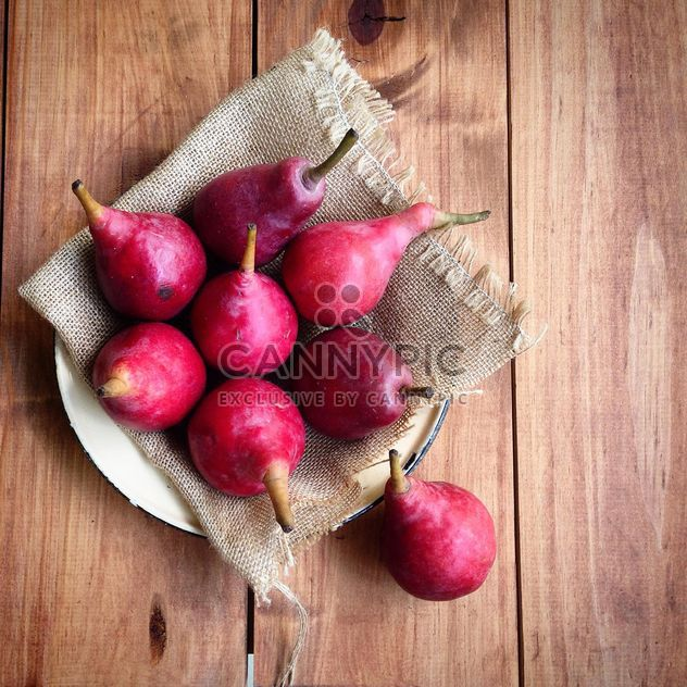 summer red pears - image gratuit #184039