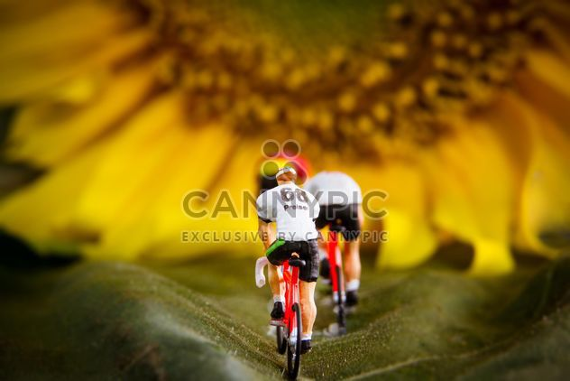 Cyclist figurines - Kostenloses image #184429