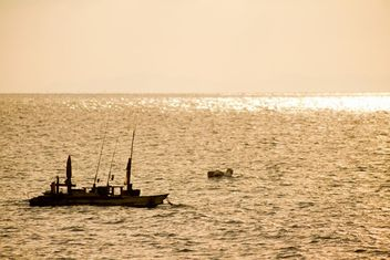 Boats on a sea - image #184639 gratis