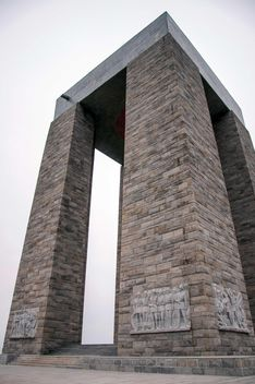 monument in canakkale city - image gratuit #185969