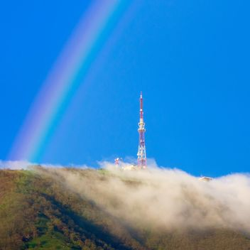 Rainbow over the Mashuk mountain - Free image #186209