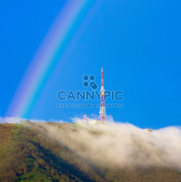 Rainbow over the Mashuk mountain - image #186209 gratis