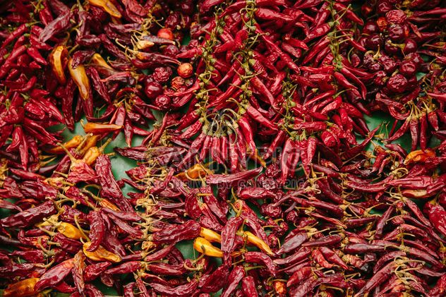 Red chili peppers - Free image #186239