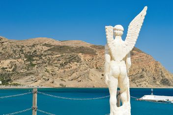 Sculpture of Ikar, Greece - бесплатный image #186249