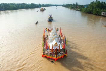 #tradition, #Drag, #towed, #chakpra, #waterway, #suratthani, #south - image gratuit #186599