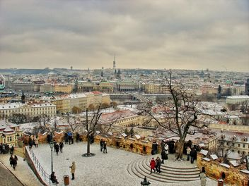 Panoramic view of Prague - бесплатный image #186809