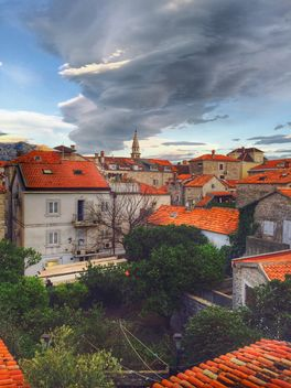 Houses of old town, Budva - Free image #186889