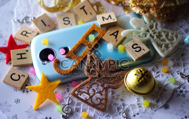 Christmas decoration of smartphone - Free image #187339