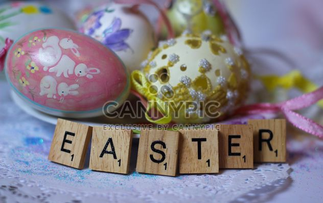 Easter egg and alphabet words - Kostenloses image #187449