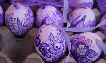 Painted Easter eggs - image gratuit #187539