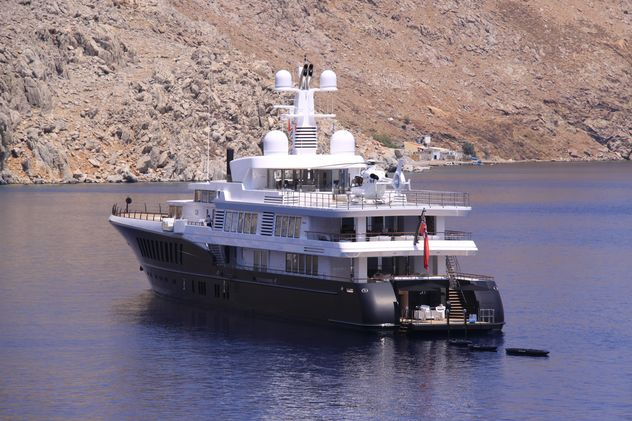 Luxury Yacht with helicopter - бесплатный image #187849