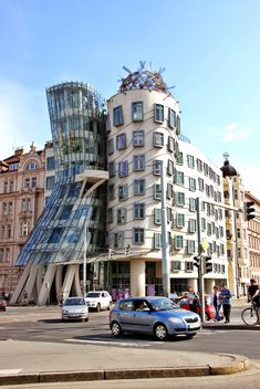 Dancing House in Prague - Free image #187909