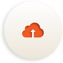 Cloud Upload - Kostenloses icon #188369
