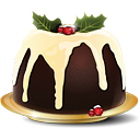 pudding de Noël - icon gratuit #188779