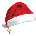 Santa Hat - icon gratuit #188789