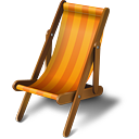 Beach Chair - Kostenloses icon #189229