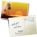 Postcard - icon gratuit #189239