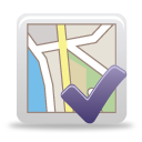 Map Accept - icon gratuit #189769