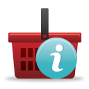 Shopping Basket Info - icon gratuit #189789
