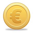 Euro Coin - icon gratuit #189809