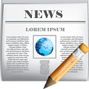 News Edit - icon #190399 gratis