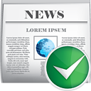 News Accept - icon #190459 gratis