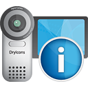 Video Camera Info - icon #190539 gratis