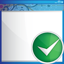Window Accept - icon gratuit #190599