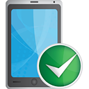 Smart Phone Accept - icon gratuit #190689