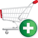 Shopping Cart Add - Kostenloses icon #190699