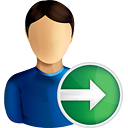 User Next - icon #190749 gratis