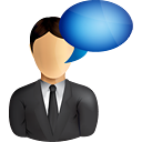 Business User Comment - icon gratuit #191009