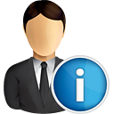 Business User Info - icon #191019 gratis