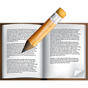 Book Edit - icon gratuit #191049