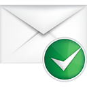 Mail Accept - icon gratuit #191099