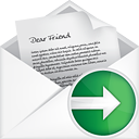 Mail Open Next - icon gratuit #191169