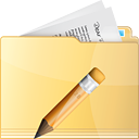 Folder Edit - icon gratuit #191229