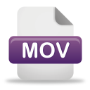 Mov File - Free icon #191989