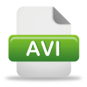 archivo AVI - icon #191999 gratis