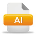 Ai File - icon gratuit #192049