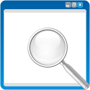 Window Search - icon #192199 gratis