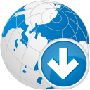 Globe Down - icon gratuit #192329